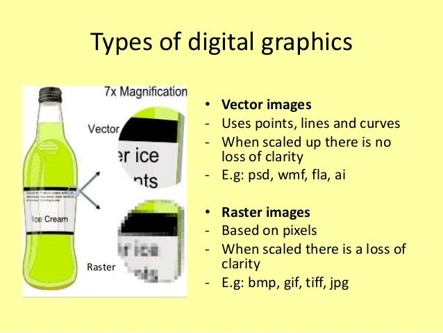 What is a vector graphics used for