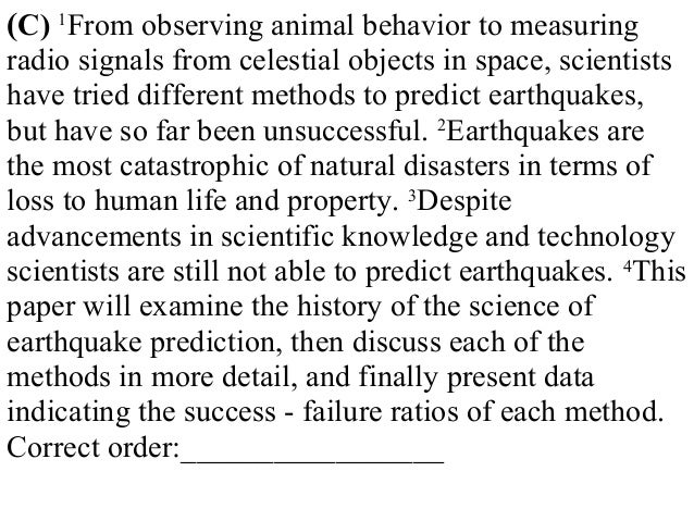 descriptive essay on earthquakes