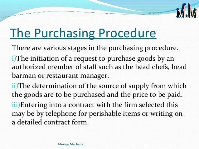 warehouse policy procedures