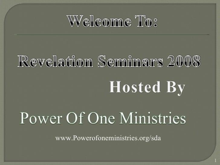 www.Powerofoneministries.org/sda