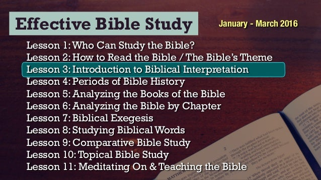 bible study interpretive analysis Arizona christian university biblical interpretation summary and review  explanation or analysis  30-37, 47-54, 67-75 traina, methodical bible study, 33-68 7.