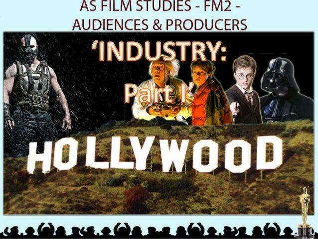 Starter Task Make a list of as many film studios as you can  What is the job of film studios?  How do film studios make th...
