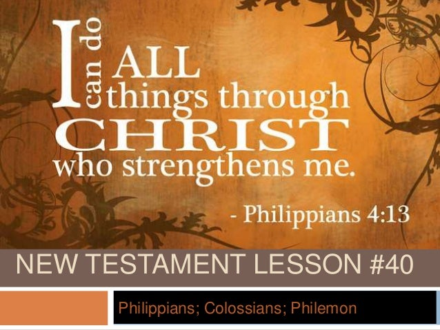 Philippians, Colossians, Philemon: New American Commentary #32 Theological Bible