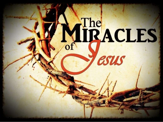Lesson 4 miracles of jesus