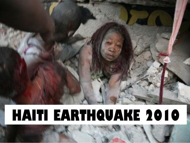 Lesson 5 haiti earthquake 2010