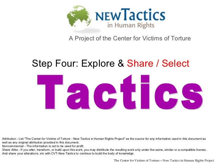 Five Steps to Tactical Innovation - Lesson 5