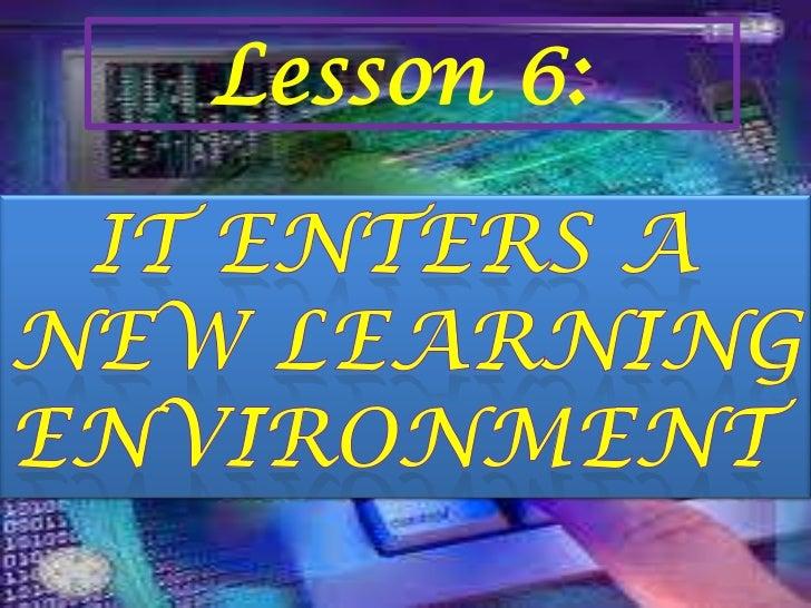 Lesson 6 edtech2