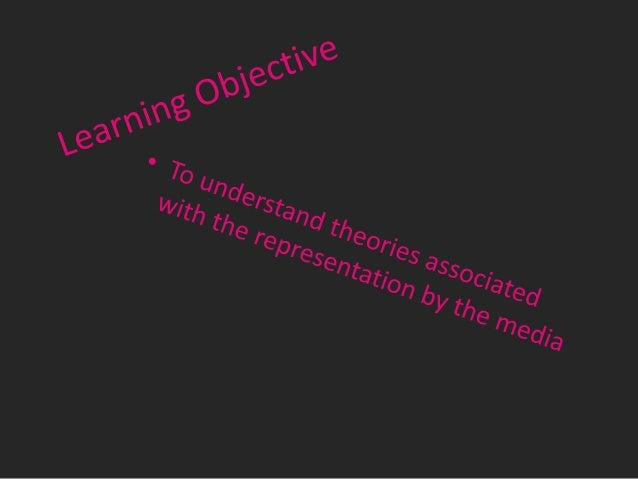 Reflective approach • This approach suggests that representations are a direct reflection of reality.