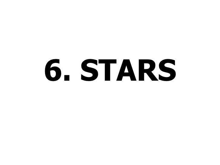 Lesson 6 stars
