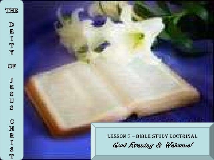oneness of god david bernard pdf