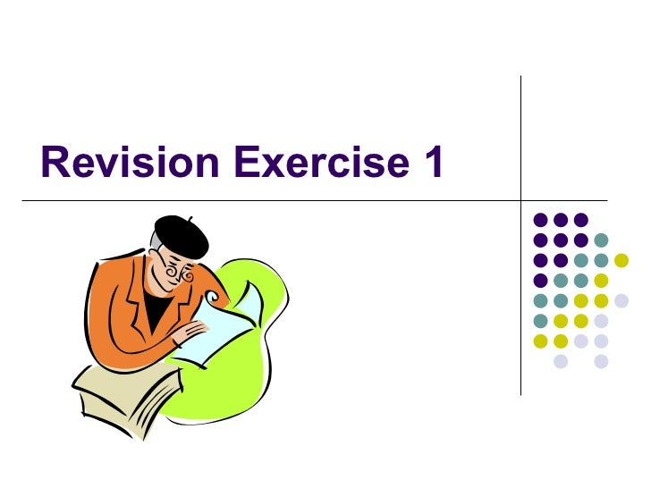Lesson 8 - Revision Exercise & Vocab Worksheet (answers)