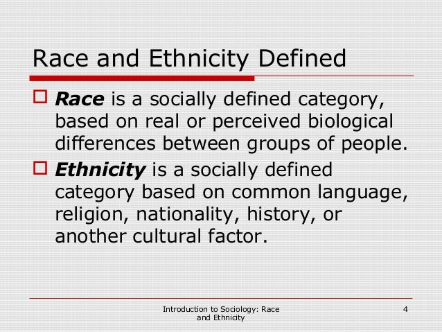 race and culture essay