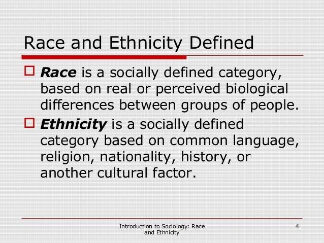 language and ethnicity essay
