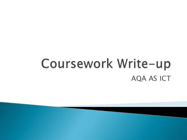 aqa ict coursework 2011 Order cheap essay:   best place to buy essay we offer a wide variety of writing services including essays, research papers, term p.