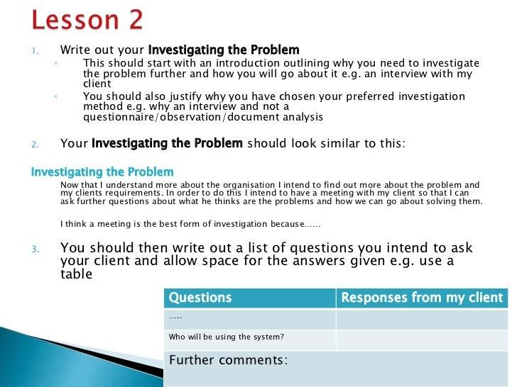 Ict info 4 coursework help