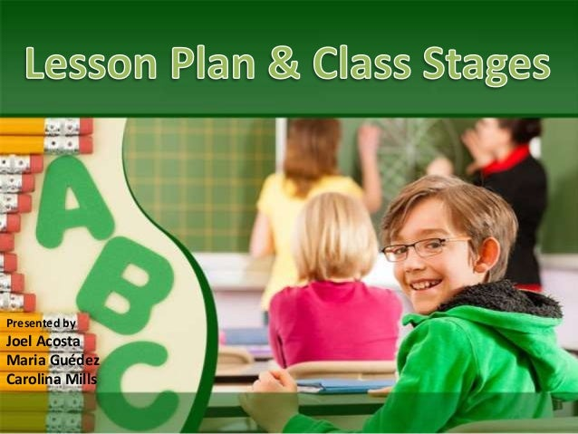 Lesson class stages