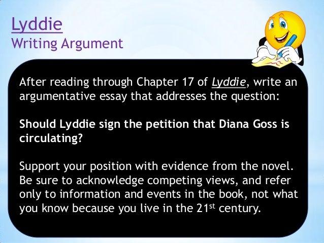 lyddie essay