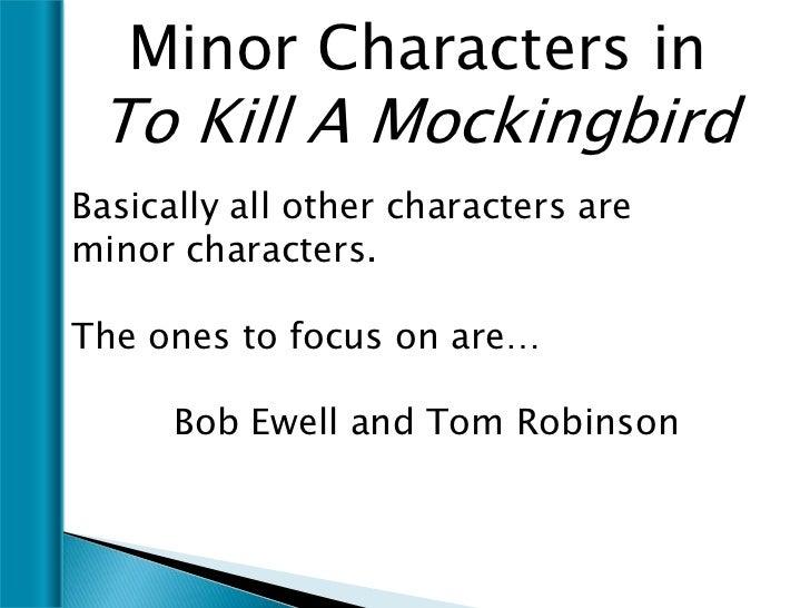 minor characters in to kill a mockingbird essay