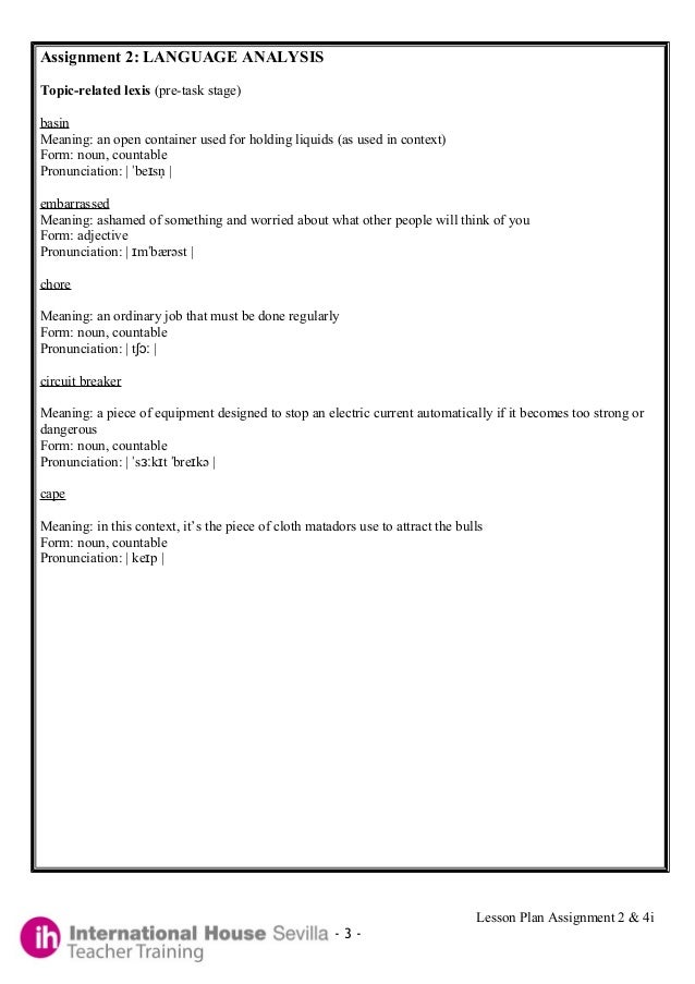 Planning Essay Template