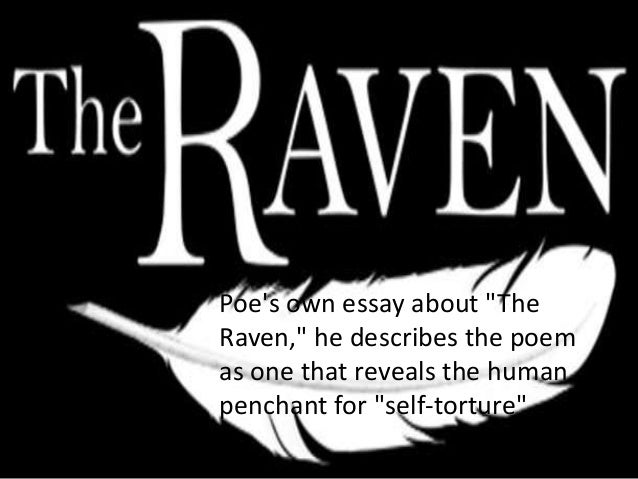 the raven essay Free raven papers, essays, and research papers these results are sorted by most relevant first (ranked search) you may also sort these by color rating or essay length.