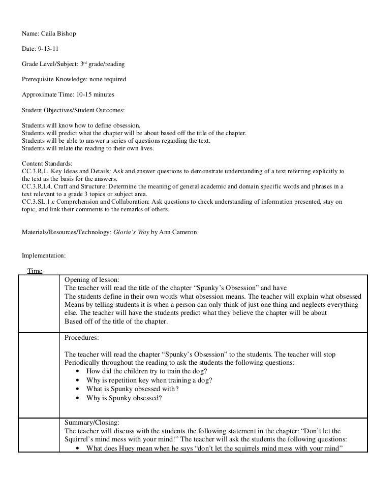 Lesson plan 9 12-11