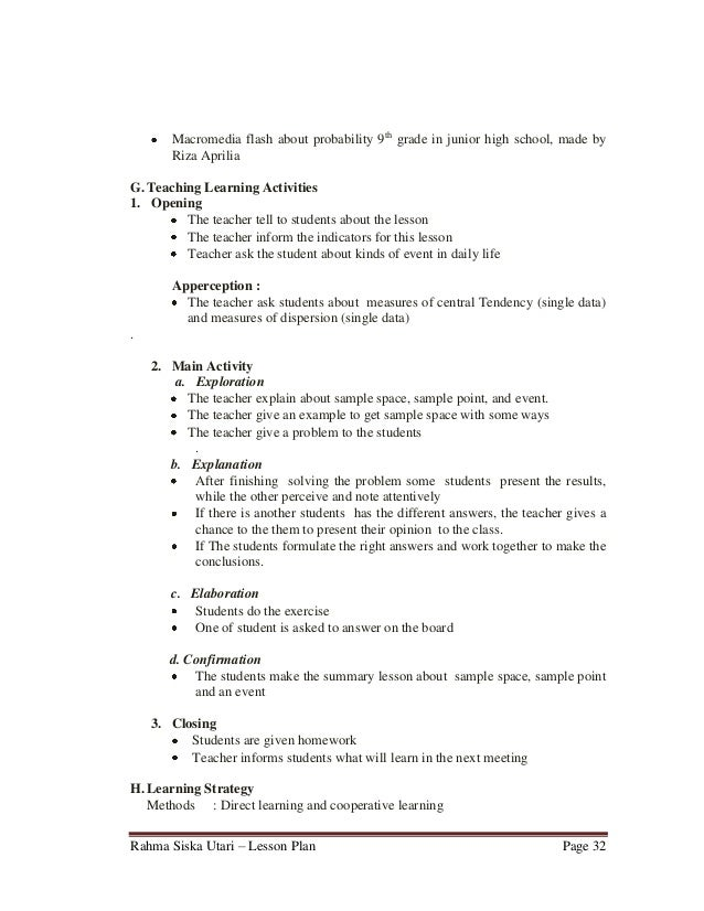 sample detailed lesson plan in english This lesson plan is originally written in japanese and translated into english by the global education resources for the lesson study immersion program in japan, june.