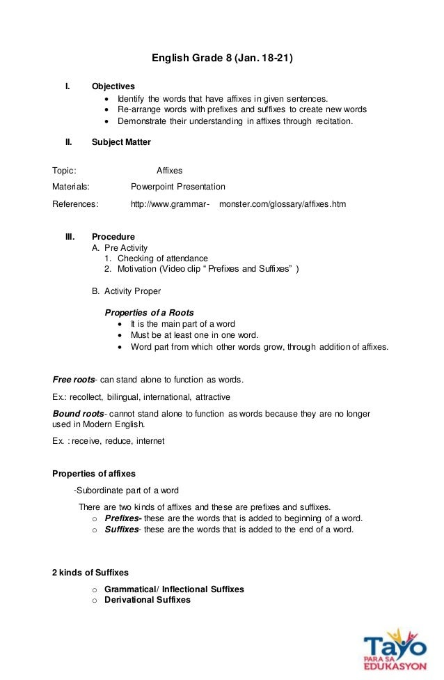 detailed lesson plan in elementary mapeh Detailed lesson plan in mapeh 7 music i objective at the end of the lesson, the students will be able to: 1 discuss the musical instrument of luzon 2.