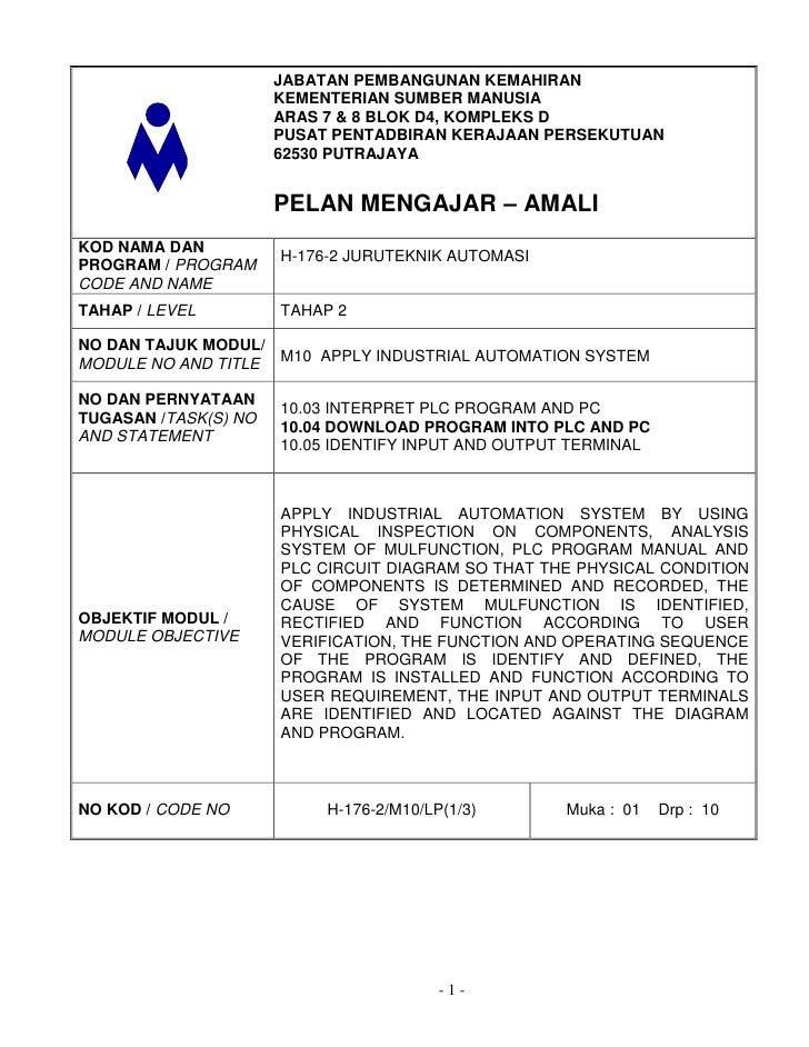 JABATAN PEMBANGUNAN KEMAHIRAN                      KEMENTERIAN SUMBER MANUSIA                      ARAS 7 & 8 BLOK D4, KOM...