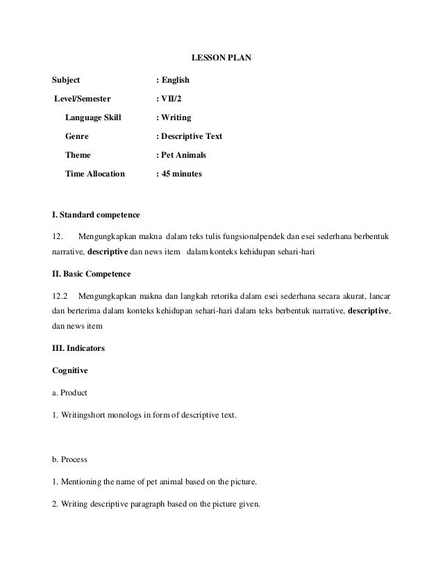 essay writing lesson plan middle school