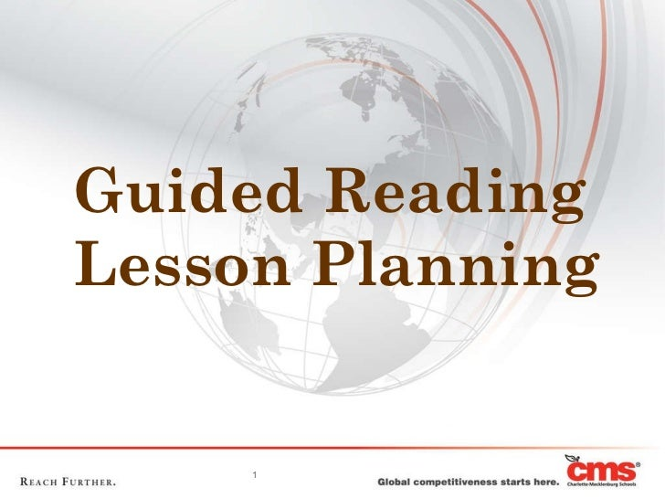 Guided Reading Lesson Planning