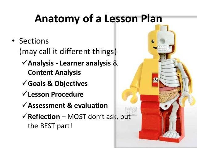 Anatomy of a lesson