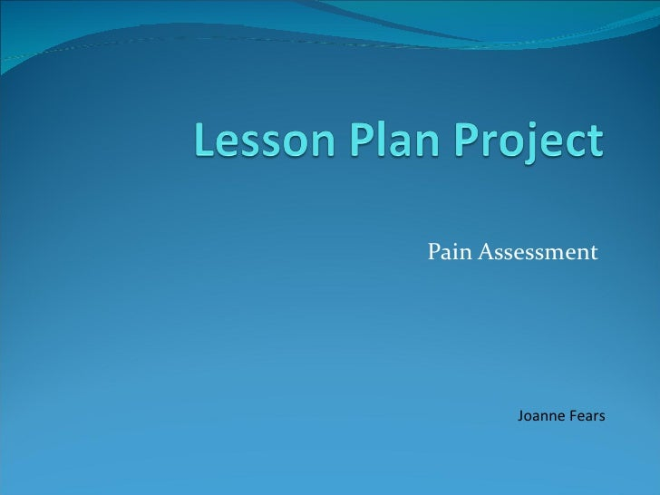 Lesson plan project
