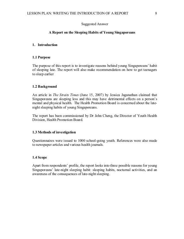 Report writing service grade 5