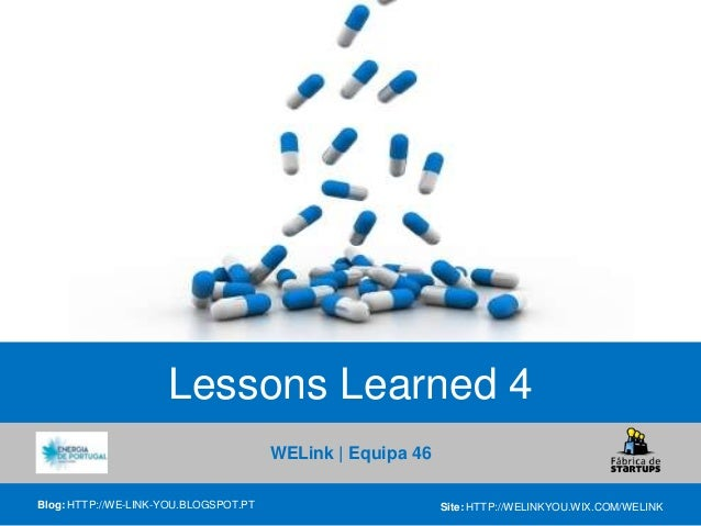 Lessons learned boot camp 4