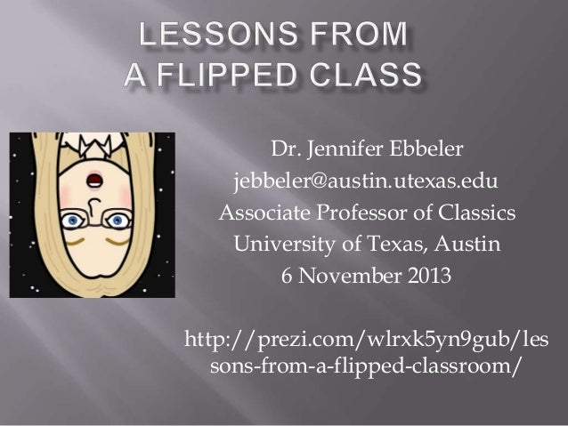 NITLE Shared Academics: Lessons from a Flipped Classroom
