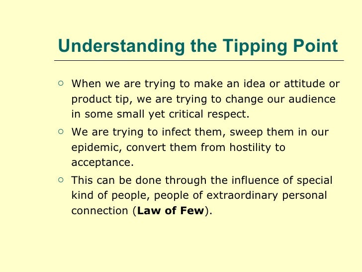 Lessons From The Tippi... Hostility People