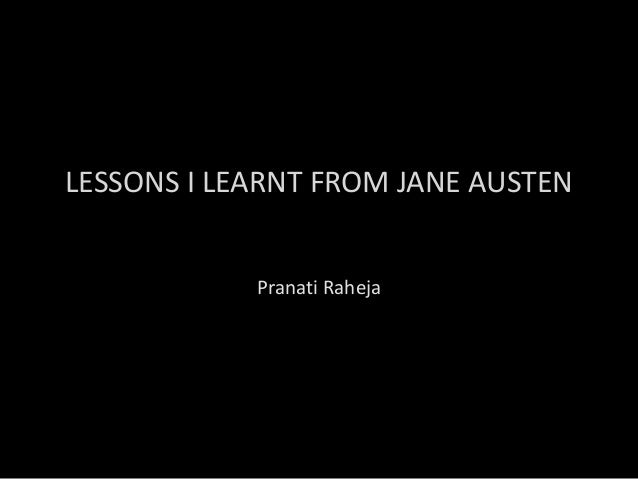 12 Life lessons I learnt from Jane Austen