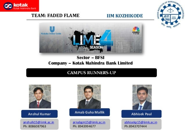 Lessons in marketing excellence 4 faded flame iimk