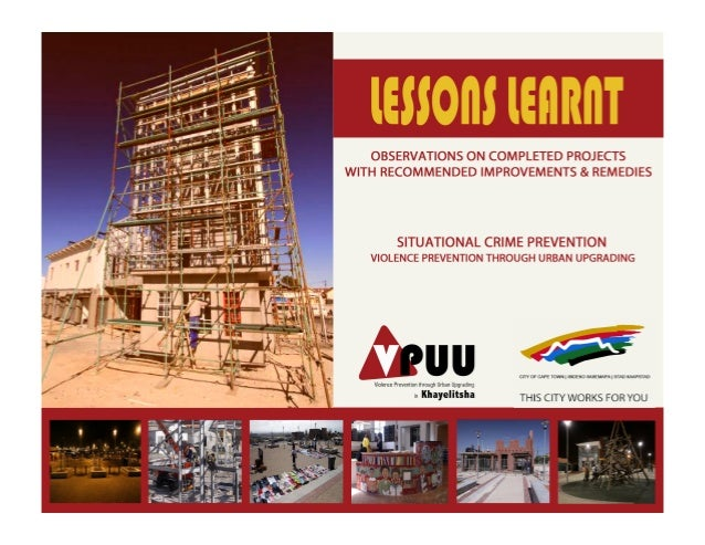 Lessons learnt vpuu whole