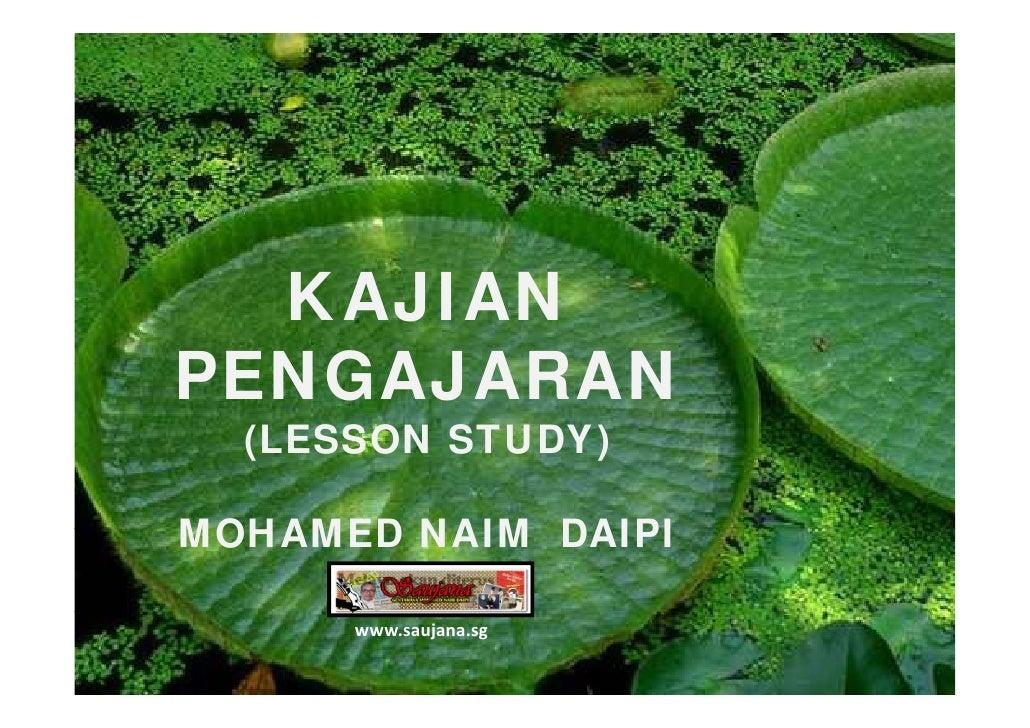 Lesson Study / Kajian Pengajaran