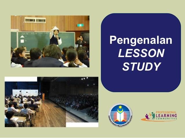 Pengenalan LESSON  STUDY