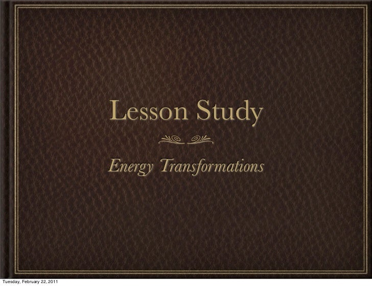 Lesson study presentation
