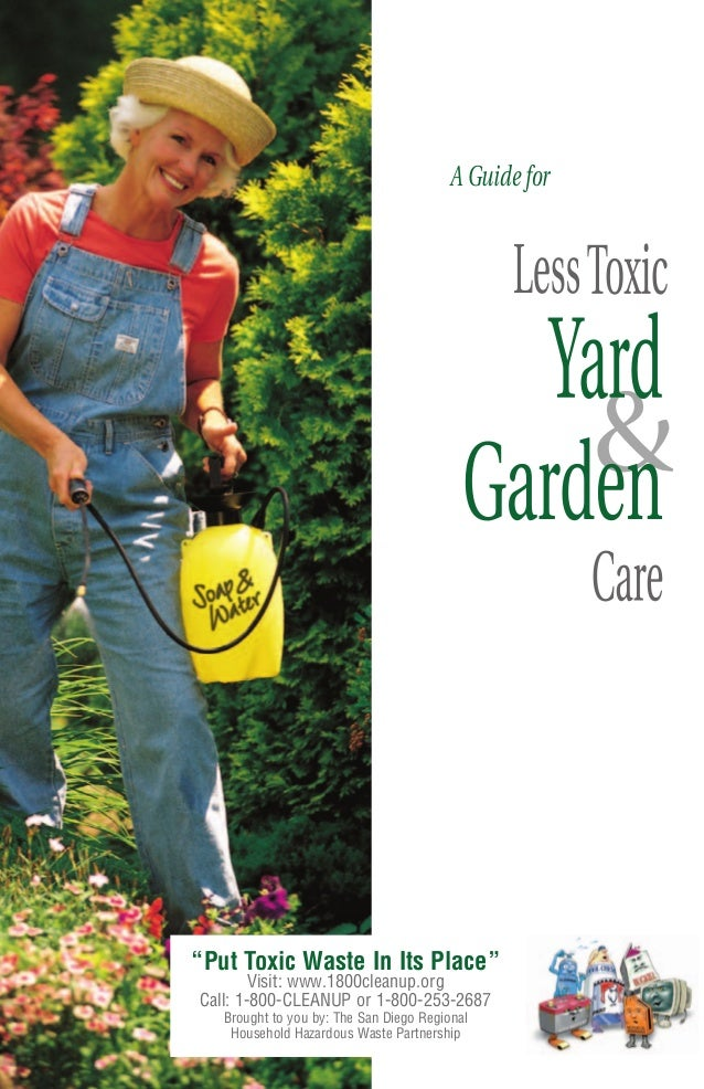 A Guide for Less Toxic Yard and Garden - City of Chula Vista