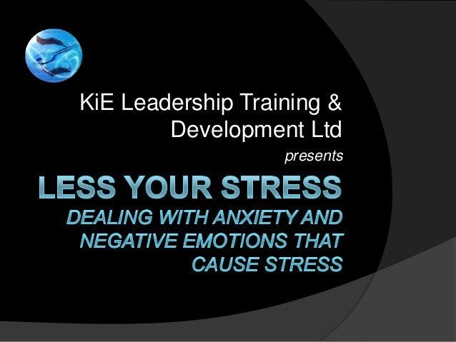 Less your stress workshop