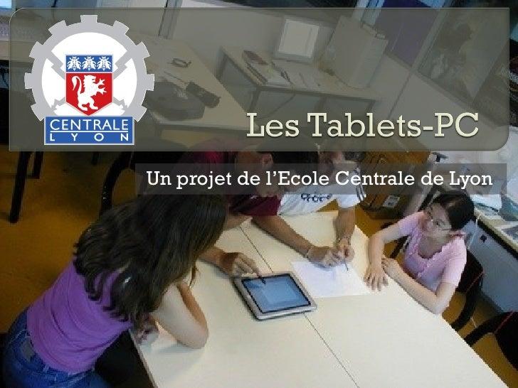 Un projet de l'Ecole Centrale de Lyon