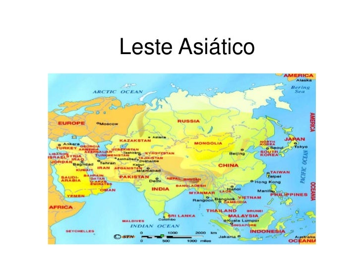 Leste asiático