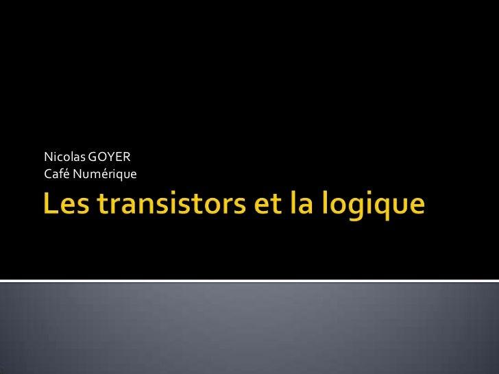 Nicolas GOYERCafé Numérique