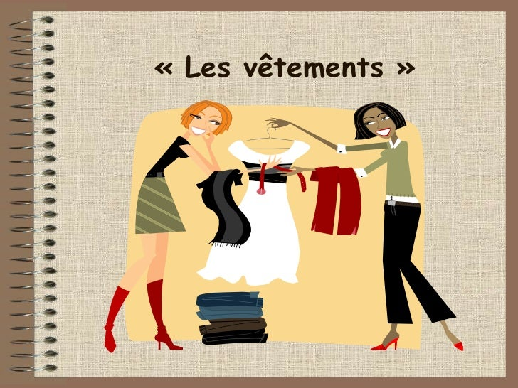 French IGCSE topic C2 : les vêtements