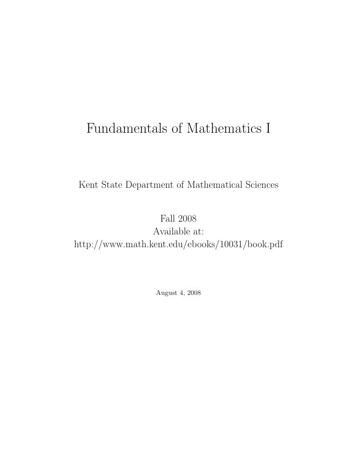 INDUSTRIAL ARTS    fundamental mathematics