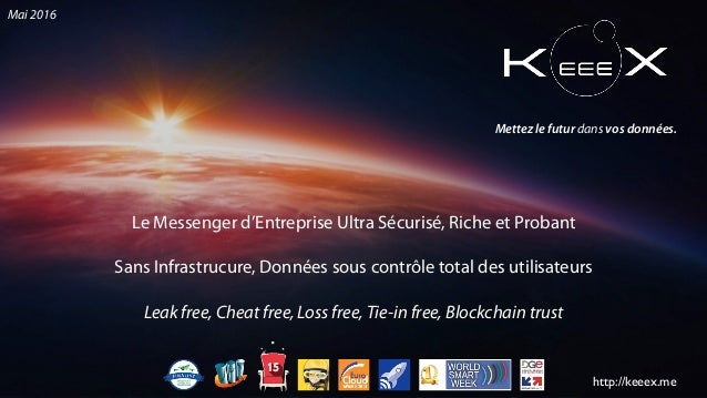 Le Messenger d'Entreprise Ultra Sécurisé, Riche et Probant Sans Infrastrucure, Données sous contrôle total des utilisateur...